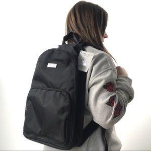 NWT JIMMY CHOO PARFUMS BLK Backpack w/ Croc Detail